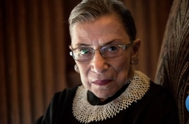 Film on iconic Justice Ginsburg