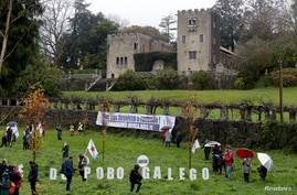 General view of Pazo de Meiras, former Spanish dictator Francisco Franco's summer palace, which is being handed over by Franco's heirs to the Spanish state in Sada, northwestern Spain, Dec. 10, 2020.