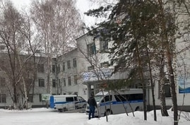 The psychiatric clinic in Nur-Sultan, Kazakhstan, where a court ordered blogger Aigul Utepova to be detained. (Photo courtesy of Togzhan Tuzel)