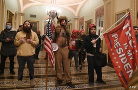 Supporters of President Donald Trump enter the U.S. Capitol, Jan. 6, 2021, in Washington, D.C.