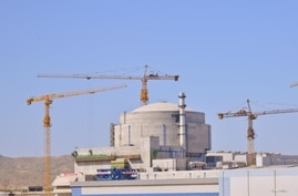 A view of the Chinese-built nuclear power plant in Karachi, Pakistan. (Courtesy - Pakistan Atomic Energy Commission)