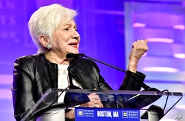Olympia Dukakis joined Human Rights Campaign President Alphonso David, and Sen. Amy Klobuchar D-Minn., as speakers at the 37th…