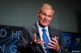 NASA Administrator Bill Nelson speaks during a news conference following the announcement of the new DAVINCI+ and VERITAS space…