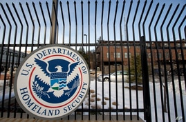 FILE - In this Feb. 25, 2015 file photo, the Homeland Security Department headquarters in northwest Washington. President Joe…