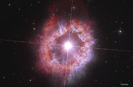 AG Carinae, a supergiant star located about 20,000 light-years away in the southern constellation Carina