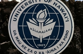 The seal of the University of Hawaii college system.