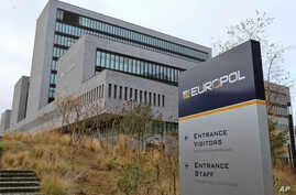FILE - This Friday, Dec. 2, 2016 file photo shows the headquarters of Europol in The Hague, Netherlands. A massive law-enforcement effort across Europe has resulted in the seizure of 24 tons of raw steroid powder and closure of nine underground labs…