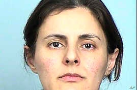 This undated photo provided by the Sherburne County Sheriff's Office shows Negar Ghodskani. Ghodskani, an Iranian woman pleaded guilty in Minnesota on Friday, ug. 9, 2019 to conspiring to facilitate the illegal export of communications technology…