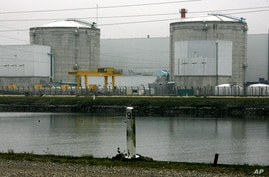 FILE - In this Nov. 30 2006 file picture the nuclear plant in Fessenheim, eastern France, is photographed. The French prime…
