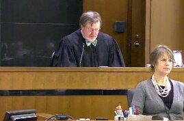 FILE - This March 12, 2013 file still image taken from United States Courts shows Judge James Robart listening to a case at…