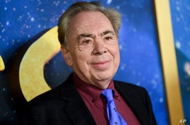 FILE - This Dec. 16, 2019 file photo shows composer and executive producer Andrew Lloyd Webber attending the world premiere of …