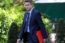 Britain's Education Secretary Gavin Williamson arrives in Downing Street in London as the country remains in lockdown due to…