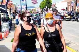 Thousands of bikers rode through the streets for the opening day of the 80th annual Sturgis Motorcycle rally Friday, Aug. 7,…