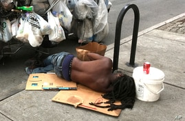 Photo by: STRF/STAR MAX/IPx 2020 8/14/20 Homelessness continues to be an ongoing social issue as the Coronavirus Pandemic has…