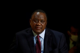 """Kenya's President Uhuru Kenyatta attends the annual tech conference """"Inno Generation"""" organized by French investment bank…"""