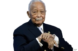 David Dinkins headshot cutout, former New York City mayor, National Action Network House of Justice, New York, graphic element…