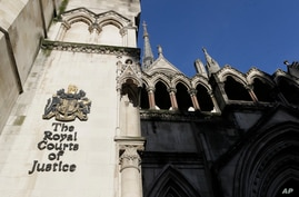 A view of the Royal Courts Of Justice, in London, Tuesday, Jan. 19, 2021. Meghan, the Duchess of Sussex will ask a High Court…