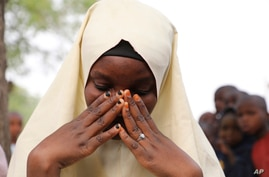 One of the students who was not kidnapped from a Government Girls Junior Secondary School following an attack by gunmen in…