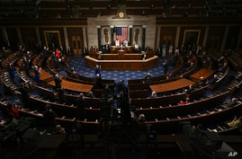 President Joe Biden speaks to a joint session of Congress Wednesday, April 28, 2021, in the House Chamber at the U.S. Capitol…