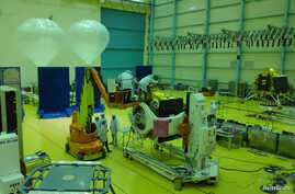 Indian Space Research Organization (ISRO) scientists work on various modules of lunar mission Chandrayaan-2 at ISRO Satellite Integration and Test Establishment (ISITE) in Bengaluru.