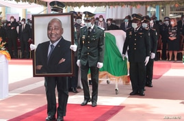 Memorial service for Ivory Coast's Prime Minister Amadou Gon Coulibaly in Abidijan