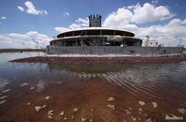 Flooding, birds, trees: Mexico City's Texcoco lake reclaims scrapped airport