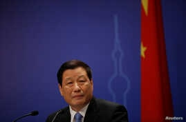 Shanghai's Mayor Ying Yong attends a news conference after the annual session of the local parliament in Shanghai, China…