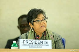 Council-mandated Commission on Human Rights in South Sudan Yasmin Sooka addresses the Human Rights Council 26th Special Session…