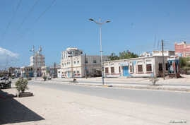 A view of a deserted street, during a curfew after the state's first case of coronavirus disease (COVID-19), was announced, in…