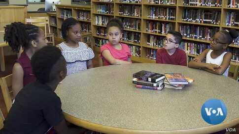 Students in Hampton, Virginia talk about their perceptions of slavery