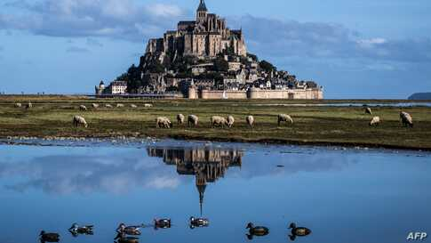 The Mont-Saint-Michel, northwestern France