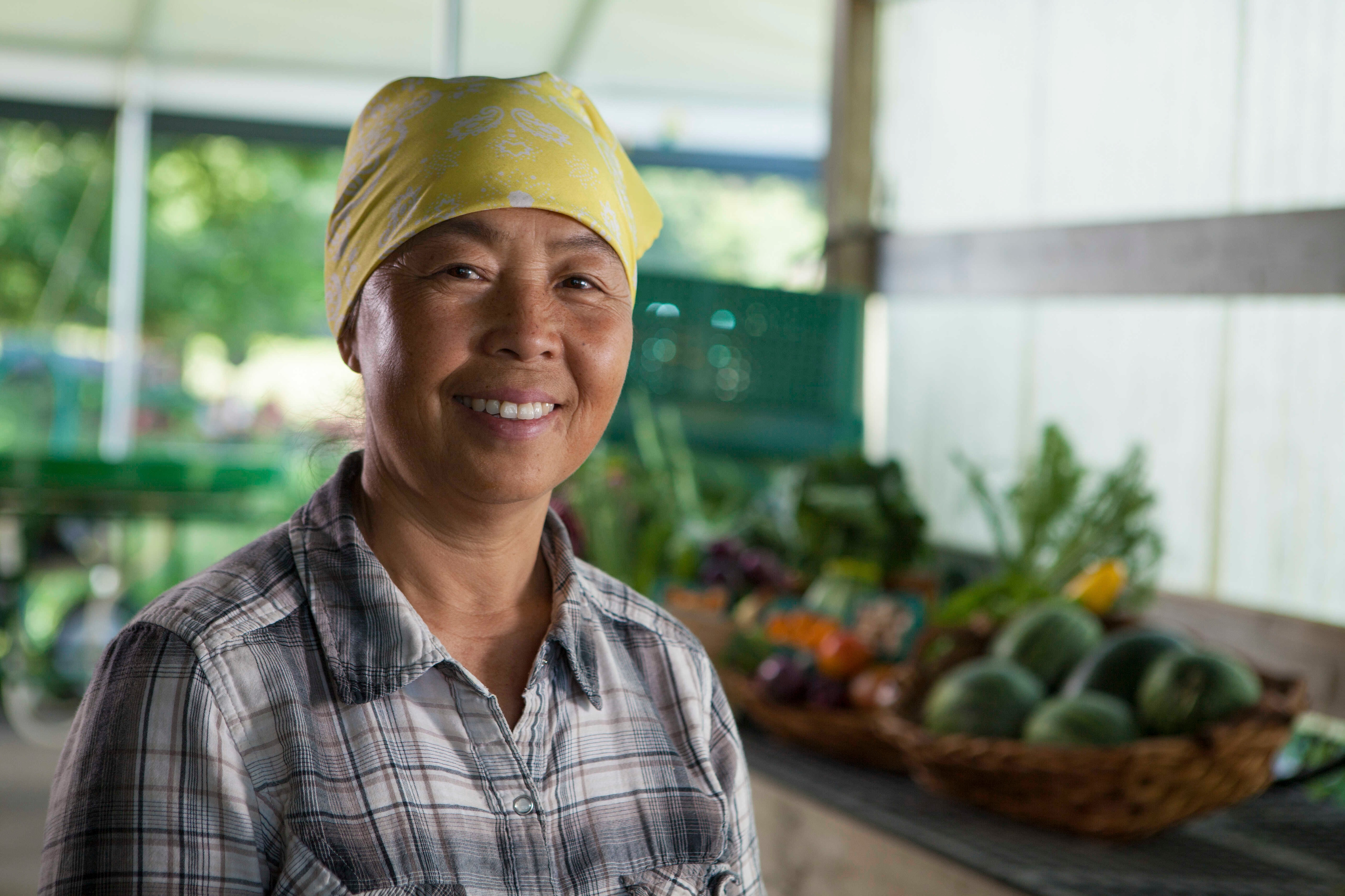 May Lee is a certified organic farmer in Minnesota