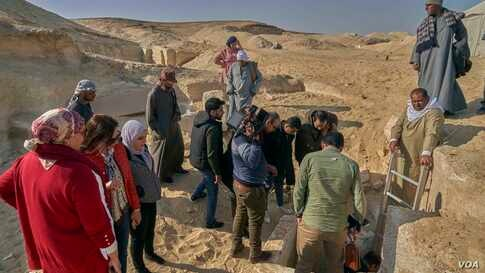 The Egyptian Ministry of Tourism and Antiquities is now able to continue their excavation projects peacefully in the archaeological sites, at Minya province.