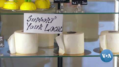Toilet Paper Cakes Keep European Bakery Rolling in Dough