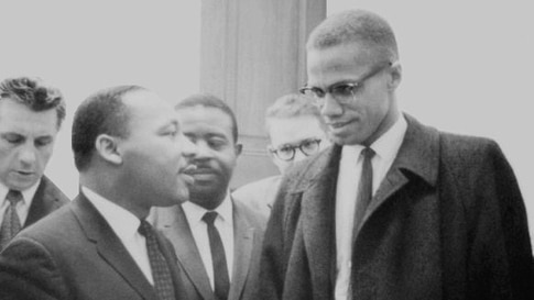 Martin Luther King Jr. and Malcolm X One and Only Meeting