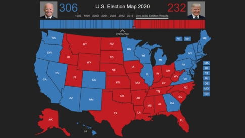 2020 US Election Results