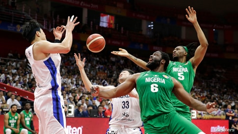 Basketball - FIBA World Cup - First Round - Group B - South Korea v Nigeria - Wuhan Sports Centre, Wuhan, China - September 4,…