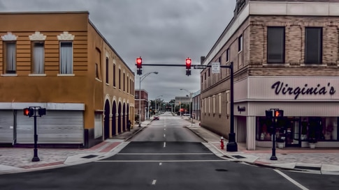 (FILE) Downtown Rocky Mount, North Carolina (Photo by Flickr user Vince Young via Creative Common License)