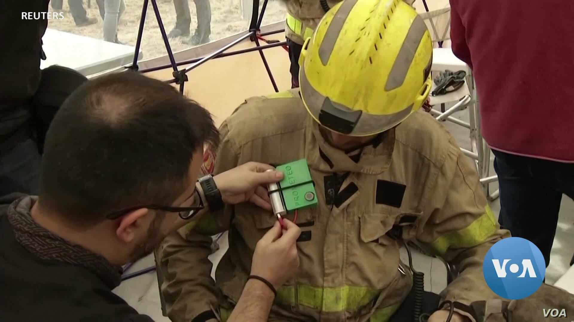 Artificial Intelligence Monitors and May Protect Firefighters