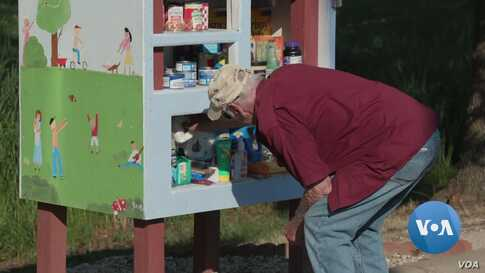 Little Free Pantry: A Source of Food And Hope