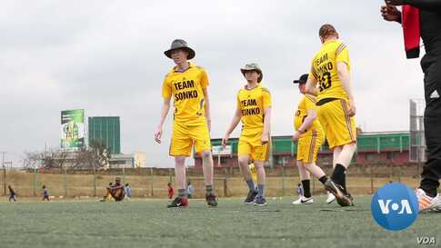 Kenya's First Albino Football Team Scores a Win
