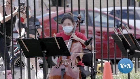 With Just A Pick-Up Truck, NY Philharmonic Drives Around With Pop-Up Concerts