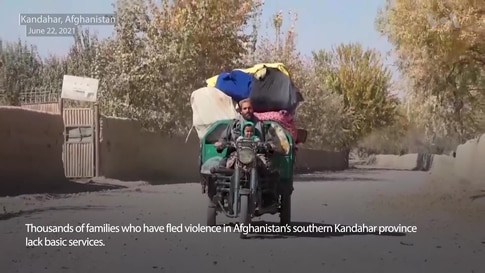 Thousands of Displaced Families in KandaharAre in Dire Straits
