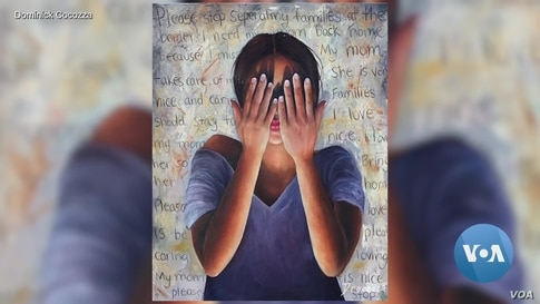 American Teen Depicts Immigration Crisis Through Art
