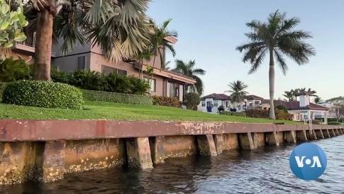 Rising Sea Levels Affects South Florida Family