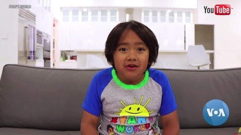 Kid YouTube Stars Top the Charts but Raise Concerns