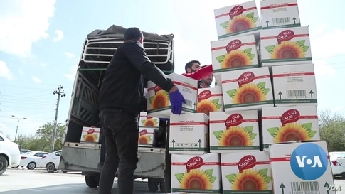 Needy Iraqis Get Helping Hand From Charity Groups