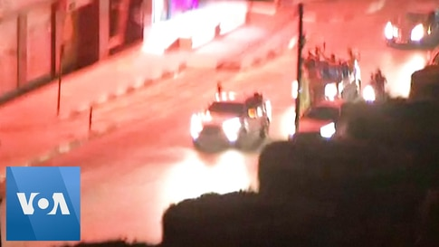 Gazans Pour Onto Streets in Celebration as Israel, Hamas Cease-fire Begins