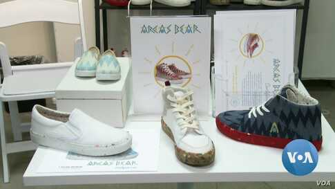 Recycled and Recyclable: LA Designer Makes Vegan Shoes