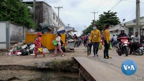 Cambodian Garment Workers Fear For Their Future